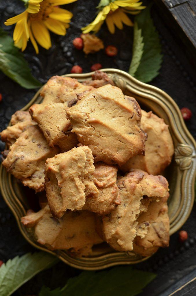 łatwe ciasteczka zczekoladą