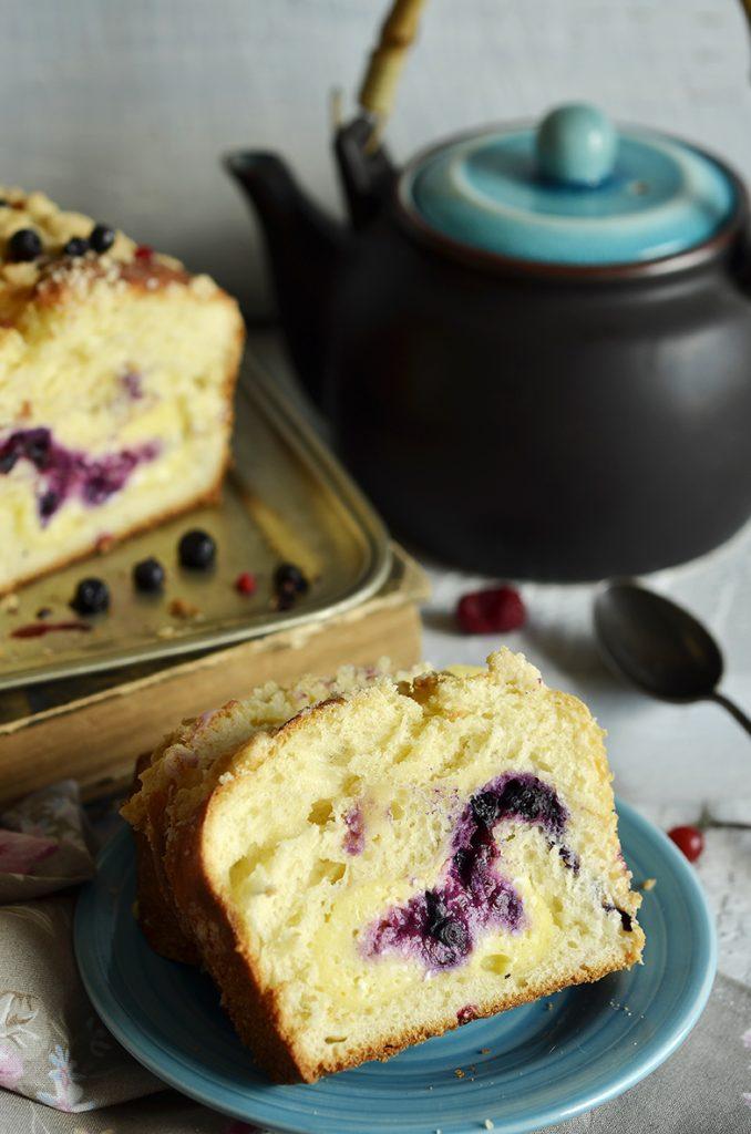 ciasto drożdżowe zserem iowocami